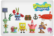Sponge bob square pants gâteau toppers patrick SQUIDWARD set de 12 figurines