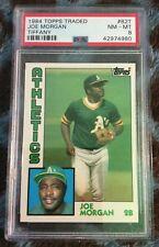 1984 Topps Rated Tiffany Oakland Athletics #82 Joe Morgan