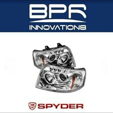 Spyder Auto Projector Head Lights Chrome Fits 03-06 Ford Expedition - 5010124
