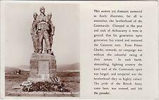 Commando Memorial In The Great Glen, SPEAN BRIDGE, Inverness-shire RP