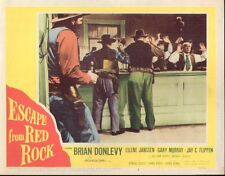 Escape From Red Rock 11x14 Lobby Card #2