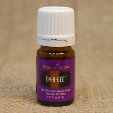 Young Living EN-R-GEE 5 mL Essential Oil NEW Unopen SHIP 24 hr aid UPLIFT ENERGY