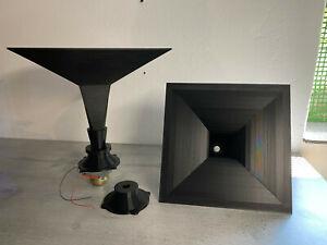 2x Horn Aufnahme 18mm und Siemens Isophon HM 10 Adapter for Klangfilm Projects