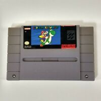 Super Mario World SNES Cartridge only Super Nintendo 1990 Tested Authentic