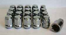 16 X M12 X 1.5 ALLOY WHEEL NUTS & LOCKING FIT TOYOTA AVENSIS CAMRY CARINA
