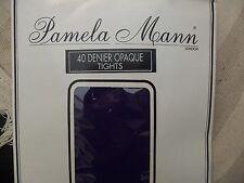 BRAND NEW LADIES DARK MAUVE OPAQUE  TIGHTS,40 DENIER ,ONE SIZE, PAMELA MANN,