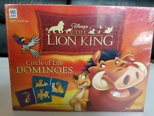 Disney's The Lion King Circle of Life Dominoes Milton Bradley Hasbro Game Sealed