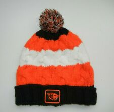 Columbia OREGON STATE OSU BEAVERS Warm Winter COLLEGE BEANIE Ski Hat Orange Cap