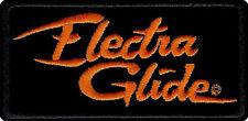 HARLEY DAVIDSON ELECTRA GLIDE VEST JACKET PATCH **NIP**  * MADE IN USA *