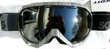 $120 Scott Mens Notice Otg Over The Glasses Steel Grey Ski Goggles Black Chrome