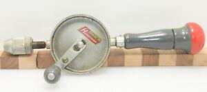Vintage Stanley Handyman No. H1220 Eggbeater Hand Drill (INV L380)