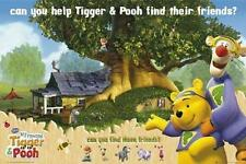 """WINNIE PUUH FILMPOSTER / POSTER """"CAN YOU HELP TIGGER & POOH"""""""