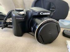 Canon PowerShot SX500 IS 16.0MP Digital Camera - Black