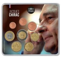 Mini-set BU France 2020 – Président Jacques Chirac