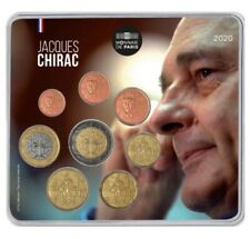 Mini-set BU France 2020 – Président Jacques Chirac