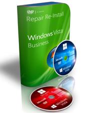 IBM Windows Vista Business Repair Reinstall Recovery Boot Disk + Drivers 32 Bit
