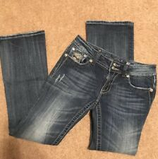 Miss Me Jeans Womens Size 25 x 29 Easy Boot Boot Cut Pants