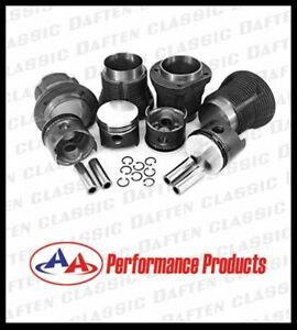 VW Volkswagen 1600 Piston and Cylinder Set AA Performance 311198069FT
