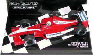MINICHAMPS 1/43  TOYOTA TF 101  TESTCAR F1 2001 A.McNISH
