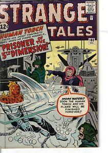 Strange Tales 103 Human Torch 1st Zemu 5th Dimension VG 1962 Glossy Kirby