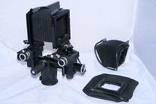 Sinar f3 SL/cine digital cámara de visión. Sinaron CMV Lentes. Hasselblad V espaldas