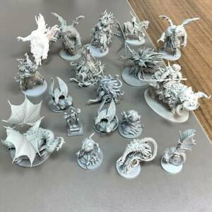 LOT Dungeons & Dragons D&D Cthulhu Wars Board Game Miniatures