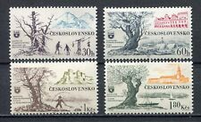 37125) CZECHOSLOVAKIA 1964 MNH** Trees and landscapes 4v