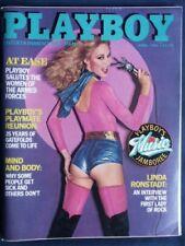 Playboy April 1980 / Shari Shattuck / Linda Ronstadt Int / Playmate Reunion