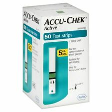 ,ACCU CHEK ACTIVE(1X 50 ) TEST STRIPS EXP MARCH-2021 Free Shipping