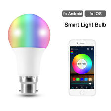 5W B22 Smart Light Bulb Bluetooth Wireless Dimmable APP Remote Control LED Lamp