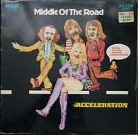 Middle of the Road Acceleration Vintage Vinyl Record LP VG+ LSP 10357