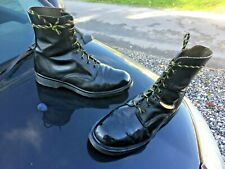 Dr Martens 1460 black leather boots UK 10 EU 45 Made in England