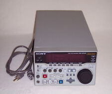 Sony DVCAM Video Disc Recorder DSR-DR1000
