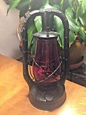 "Dietz Red Globe ""Tubular Barn Lantern"" Vintage Collectible High Quality"