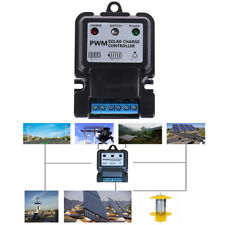 1Pc 6V 12V 10A Auto Solar Panel Charge Controller Battery Charger Regulator 2Y