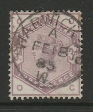 GREAT BRITAIN 1883 3d LILAC SG 191 FINE USED.