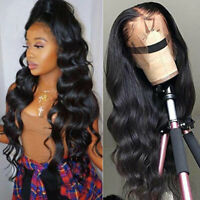 Curly Wavy 9A Indian Remy Human Hair Wig Lace Front Wig Full Lace Wig Thick z257