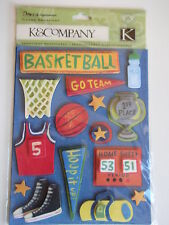 K&CO ROUGH & TUMBLE - GRAND ADHESIONS STICKERS BASKETBALL