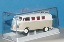 RF10-2] Brekina VW Camper T1b, White/Gray 31547 1:87 Boxed ❄
