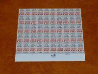 United States Scott 2053 the 20 cent Civil Service Sheet of 50 mint