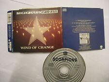 SCORPIONS Wind Of Change  – original 1991 UK CD – Soft Rock  – BARGAIN!