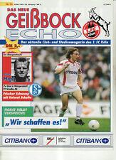 BL 92/93 1. FC Köln - FC Schalke 04