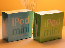 **COLLECTORS iPOD MINi SET** Apple iPod mini 2nd Generation Blue 4 GB MP3