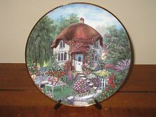 Lilliput Lane Titmouse Cottage Franklin Mint Limited Edition Plate