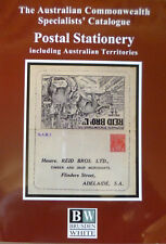 AUSTRALIA 2018 BRUSDEN WHITE POSTAL STATIONERY SPECIALISTS' CATALOGUE 2nd EDN