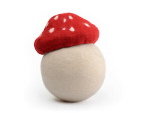 Felted toadstool hat, photography prop for newborns, mushroom photo accessory