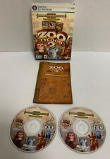 Zoo Tycoon 2 Zookeeper Collection 2006 Microsoft PC Tested Compete