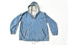 Vintage 90's Unionbay Denim Jacket Hoodie Size Medium Coat Pullover Blue jean
