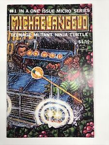 MICHAELANGELO #1 (1985) Micro Series Eastman Laird TMNT Michelangelo Mirage NM