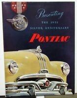 1951 Pontiac Chieftain Sedan Delivery Catalina Wagon Streamliner Sales Brochure